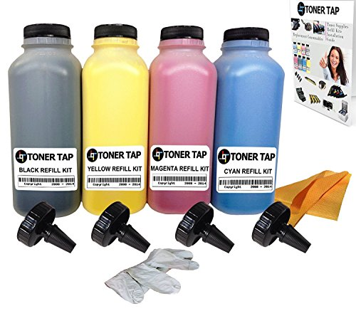 Toner Tap Dell E525W Bulk Toner Refill For Dell E525W Color