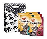 Meow Mix Irresistibles Cat Treat and Snack, Variety Pack of 5, Pet Gift Bag Set For Sale