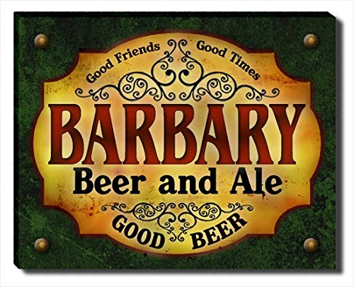 ZuWEE Barbary Family Beer and Ale Gallery Wrapped Canvas Print