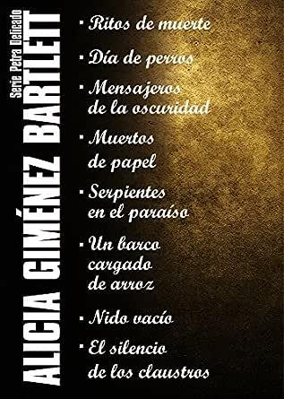 Serie Petra Delicado (Pack) (Edición de 2013) eBook: Bartlett, Alicia Giménez: Amazon.es: Tienda Kindle