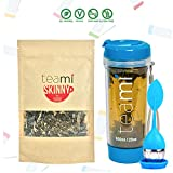 DETOX TEA for a Teatox & Weight Loss – 30 Day Supply to get Fit – Skinny by Teami Blends – Best to Help Boost Metabolism and Reduce Bloating – 100% Natural Appetite Suppressant (Kit, Blue) For Sale