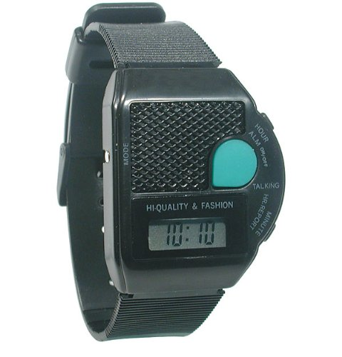 talking wrist watch