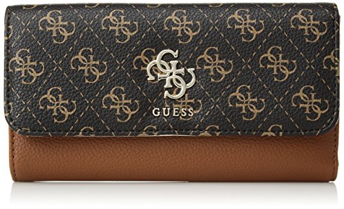 GUESS Digital Multi Clutch Wallet, Cognac Multi by GUESS