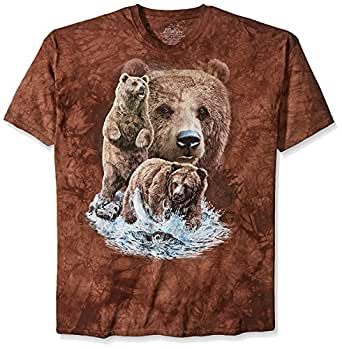 The Mountain Men's Find 10 Bears T-Shirt, Brown, Small