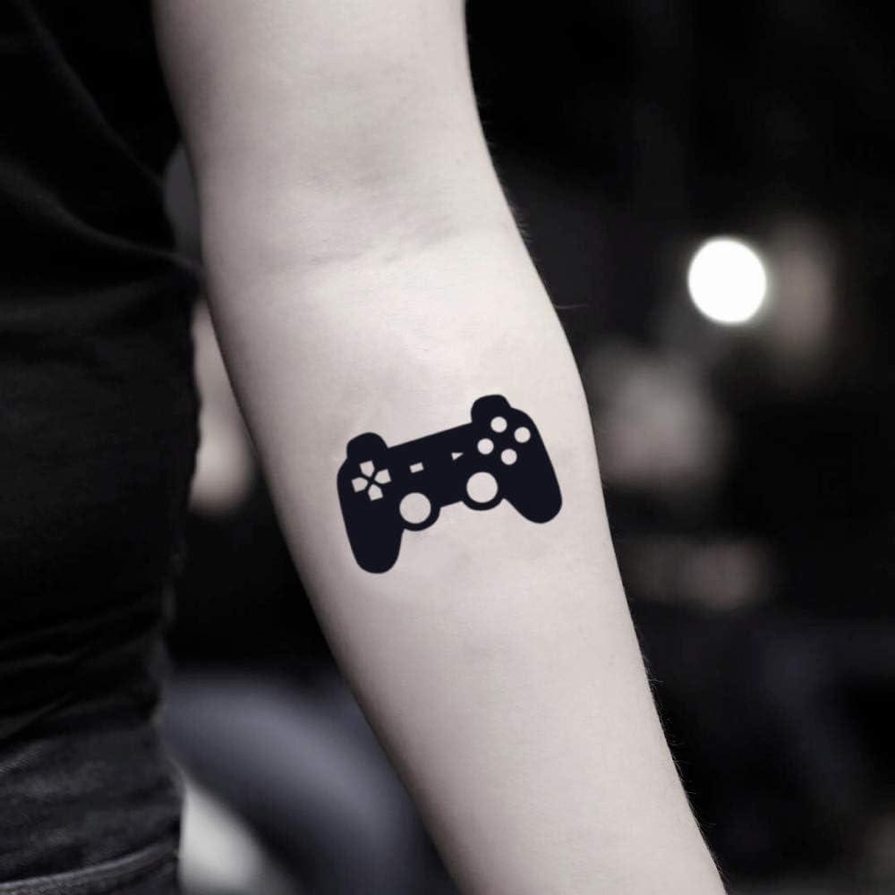 Tatuaje Temporal de Control de videojuegos (2 Piezas) - www ...