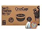 San Francisco Bay OneCup, Decaf French Roast, 120 Count- Single Serve Coffee, Compatible