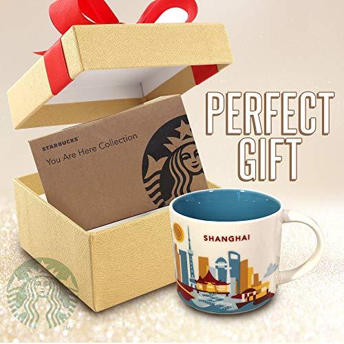 Starbucks Shanghai Coffee Mug | Genuine & Collectible Coffee Cup | Perfect Gift For Coffee Lovers & Travel ()