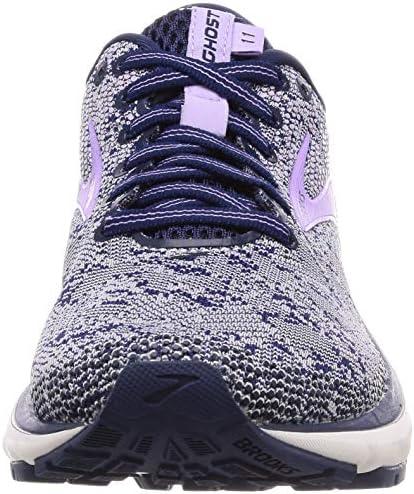8f41f75c3e3 Brooks Women s Ghost 11 Navy Grey Purple Rose Running Shoes-5 UK India (38  EU) (1202771B406)