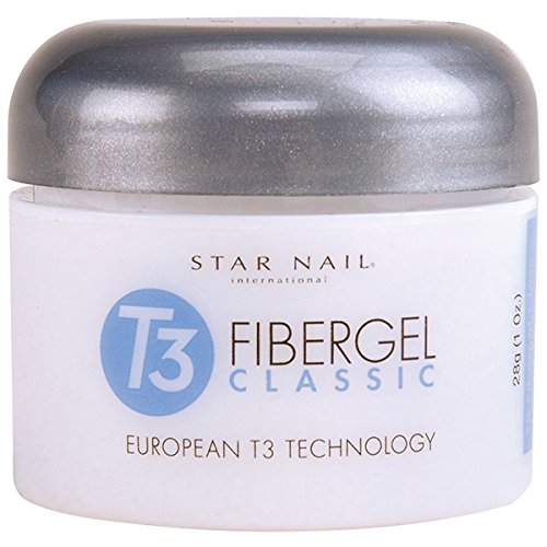 Star Nail T3 European Fibergel Opaque Rose Nude 1 oz by NailStar