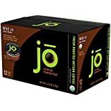WILD JO: 12 Cup Organic Dark French Roast Single Serve Coffee for Kuerig K-Cup Brewers, Bold Strong Rich Wicked Good! Keurig 1.0 & 2.0 Eco-Friendly Cup, Our Most Popular, No Additives, Non-GMO