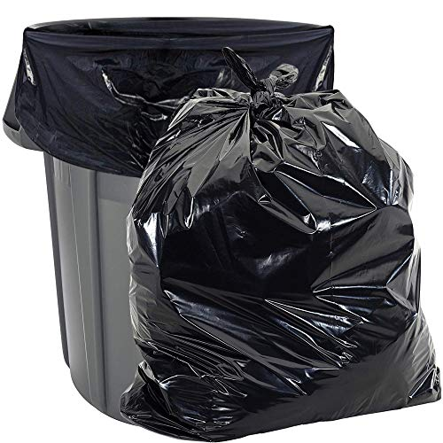 55 Gallon Trash Bags Heavy Duty - (Huge 100 Pack) - 2.0 MIL Thick - 38