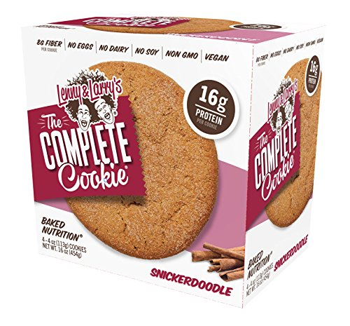 Lenny & Larry's The Complete Cookie 4 Pack Box 4oz Cookies (Snickerdoodle)