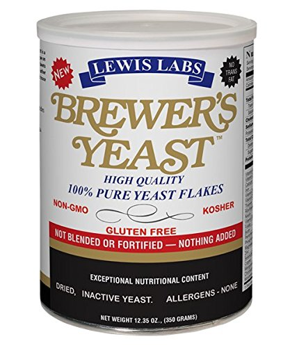 Lewis Lab Brewers Yeast Flakes product image