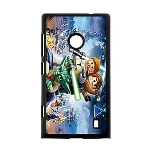 Custom Hot Movie Star Wars Printed Hard Plastic Back Protective Case for Nokia Lumia 520 FC-4
