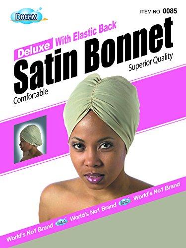 Dream Deluxe Satin (Deluxe w/Elastic Back Satin Bonnet)