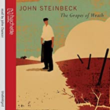 The Grapes of Wrath Audiobook by John Steinbeck Narrated by John Chancer