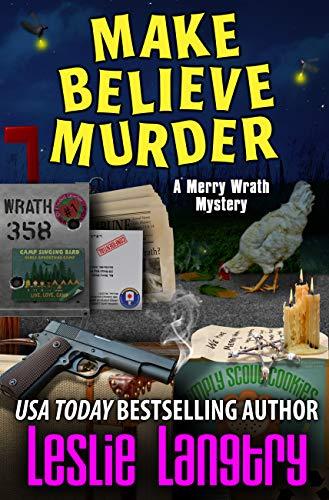 Make Believe Murder (Merry Wrath Mysteries Book 12) by [Langtry, Leslie]