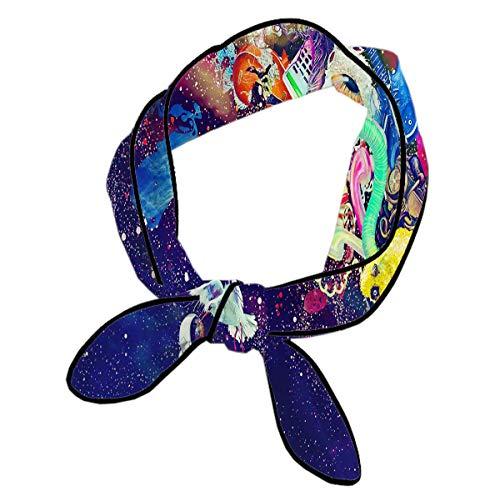 Girl's Head Wrap - Elegant & Long Hairband,