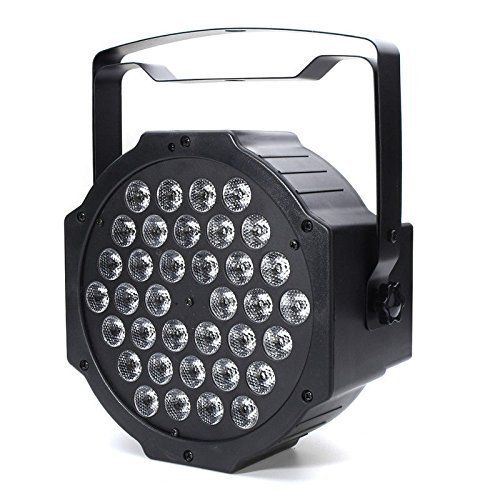 72W Black Light DJ Lights UV Blacklight Stage Spotlight 36 LEDs Auto Lighting Voice Control for Party Wedding Disco Club with Control by Deep Dream (Image #3)