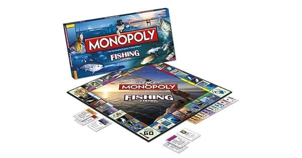 Monopoly Fishing Prized Catch Board Game [Importación Inglesa]: Amazon.es: Videojuegos