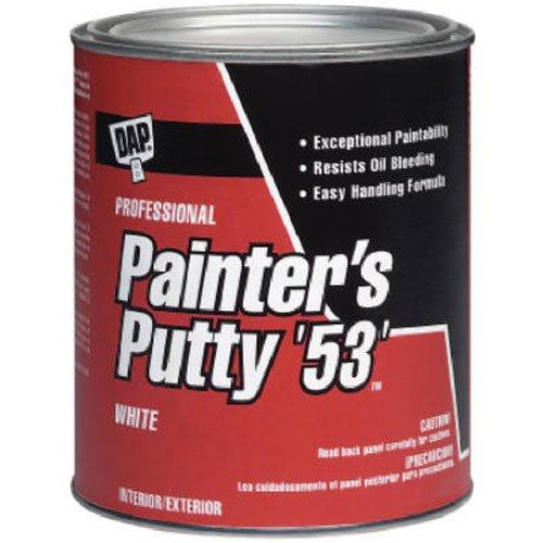 Dap 12240 Painter's Putty, White, 1/2-Pint (Wood Putty Sash)