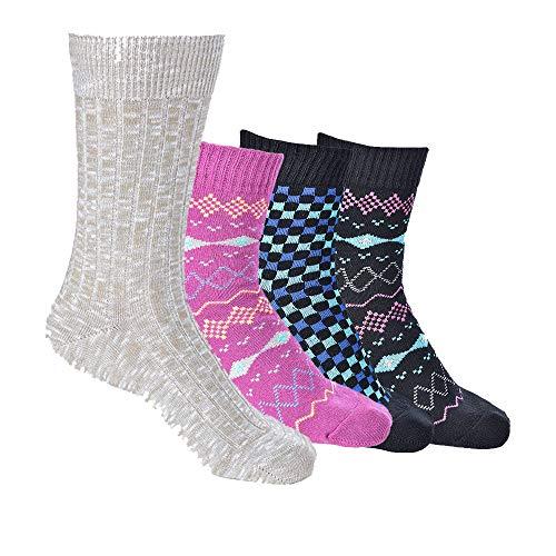 No Show Socks Women Non Slip Low Cut Socks No Show Liner Socks 3 pack & 6 pack (Black, Purple, Afterglow, Blue, Shoe Size 5-9/Sock Size 9-11)