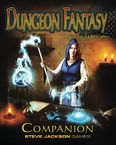Book cover from Dungeon Fantasy Companion by Peter V. DellOrto