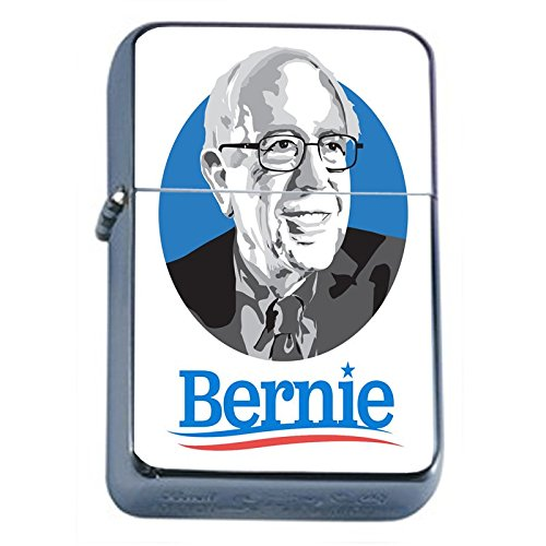 Bernie-Sanders-Flip-Top-Dual-Torch-Lighter-S1-Smoking-Cigarette-Smoker-420-Sexy-Weed-Double-Flame-Presidential-Candidate