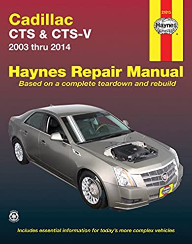 cadillac cts cts v 2003 thru 2014 haynes repair manual editors rh amazon com Chilton's Manual Slave chiltons manuals for sale