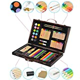 Best Glue Set With Cases - GaGa 86 Piece Deluxe Art Supplies Set Review