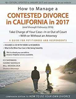 How to do your own divorce in california in 2017 an essential guide how to manage a contested divorce in california in 2017 take charge of your case solutioingenieria Gallery