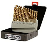 Professional Woodworker 52007 29-Piece Drill Bit Set