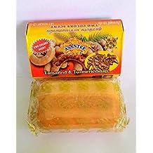 Asantee Tamarind & Turmeric Herbal Thailand Soap,Vitamin C,AHA,Honey (125 g.)