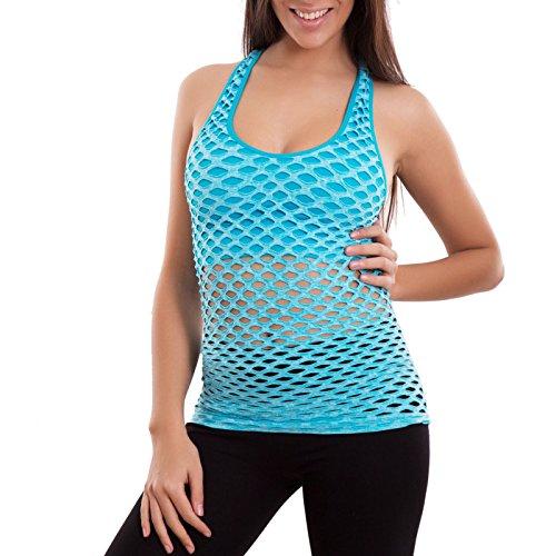 Toocool - Camiseta sin mangas - para mujer Turchese