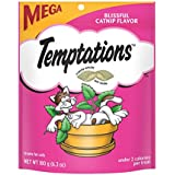 Temptations Classic Treats For Cats Blissful Catnip Flavor 6.3 Ounces (Pack Of 10)