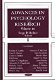 Advances in Psychology Research, , 1590336143