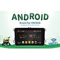 2G 16G With Camera and microphone Android 6.0 Quad Core Wifi model car dvd player gps 2 Din 8 Inch For Volkswagen VW Skoda POLO PASSAT B6 CC TIGUAN GOLF 5 Fabia Support Mirror Link/OBD2/Subwoofer