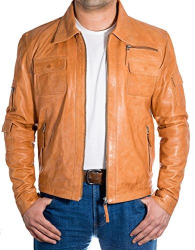 de la cuero chaqueta con camisa Smart Color morado con Cuello cremallera fijaci—n de de motorista Smart del de CPqpw75x