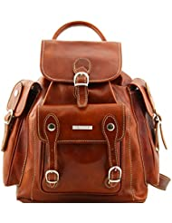 Tuscany Leather Pechino Leather Backpack Leather Backpacks