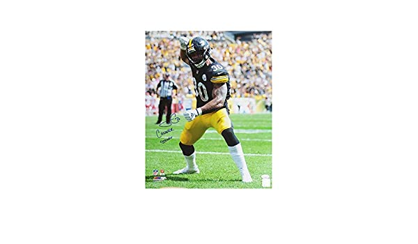 James Conner Conner Strong Autographed Pittsburgh Steelers 16x20 Photo - JSA  COA at Amazon s Sports Collectibles Store 39c6776e6