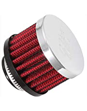K&N 62-1360 Vent Filters, Chrome, One Size