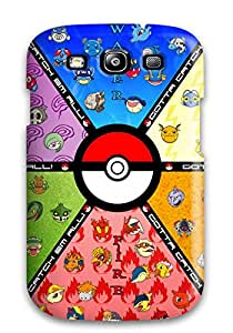 New Arrival Case Specially Design For Galaxy S3 (pokemon)