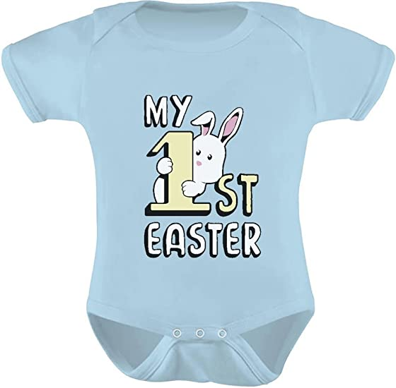 bodysuit new mother personalized babys first easter vest peeps 1st easter vest present baby gift bunny vest