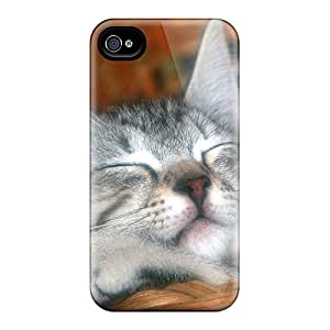 Premium Sleeping Cat Heavy-duty Protection Case For Iphone 4/4s