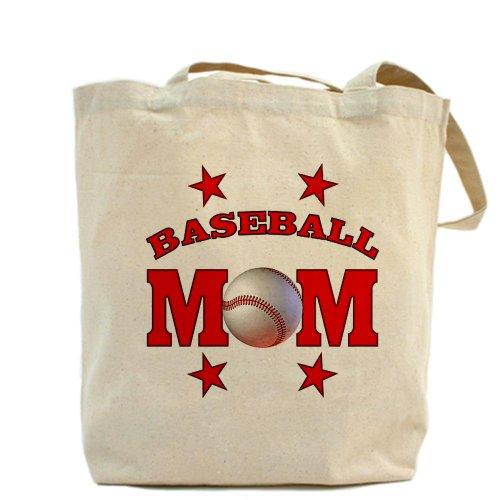 CafePress–mamá de béisbol–Gamuza de bolsa de lona bolsa, bolsa de la compra