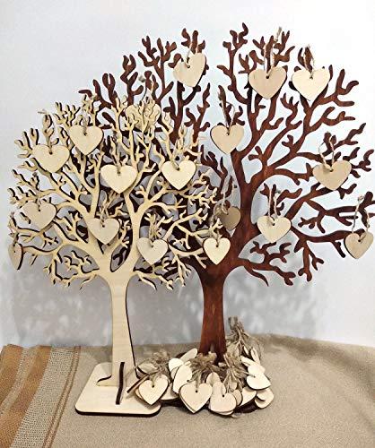 659ParkerRob Rustic Wedding Guest Book Alternative Guest Book Wedding Wishes Tree Rustic Wishing Tree Wishing Tree Wedding Wishing Wooden Tree with]()