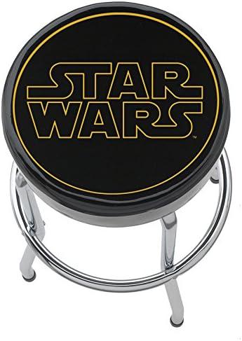 Plasticolor 004782R01 Star Wars Logo Disney Garage Stool