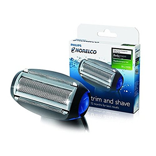 Philips Norelco Bodygroom Replacement Trimmer/Shaver Foil (Pack of 3) (Norelco Foil)