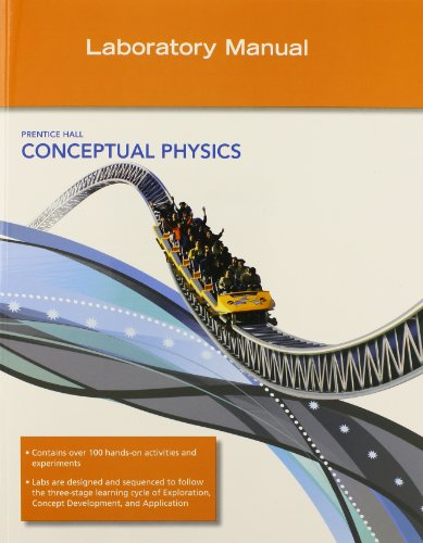 CONCEPTUAL PHYSICS C2009 LAB MANUAL SE