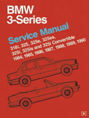 B390 BMW 3 Series 318 325 E30 Service Manual 1984-1990 Bmw 318 E30